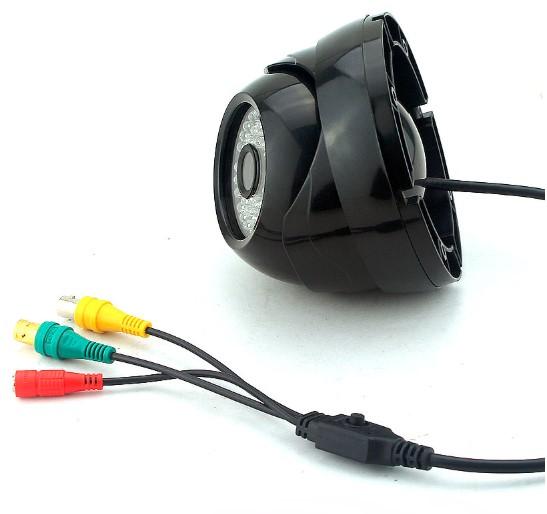 Black ABS Plastic 1080P SDI Standard Wide Angle CCTV Camera