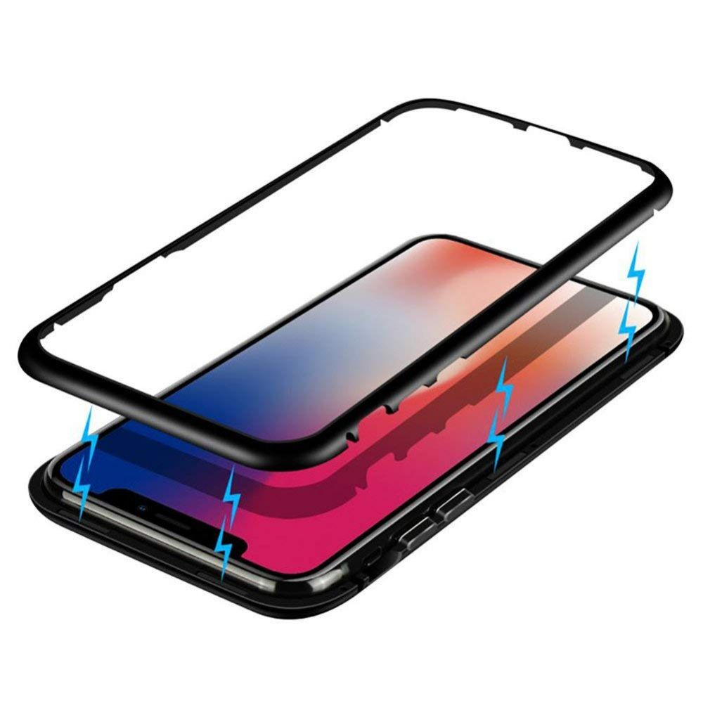 Metal Magnetic Case Cover for iPhone Xs Max