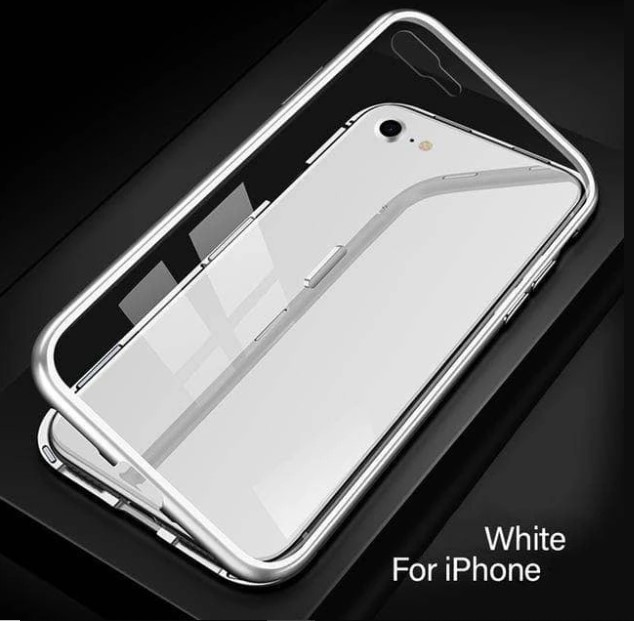 Metal Magnetic Case Cover for iPhone 8 Plus and 7 Plus
