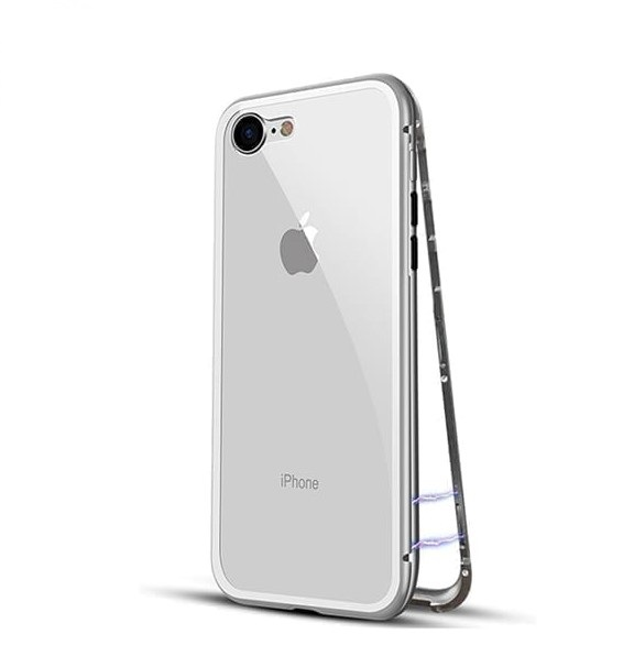 Metal Magnetic Case Cover for iPhone 7