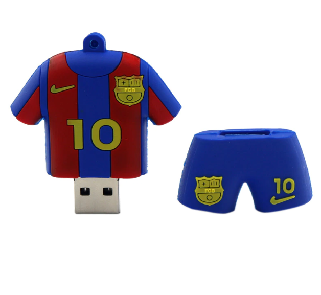 Messi Football Shirt Flash Drive 64GB