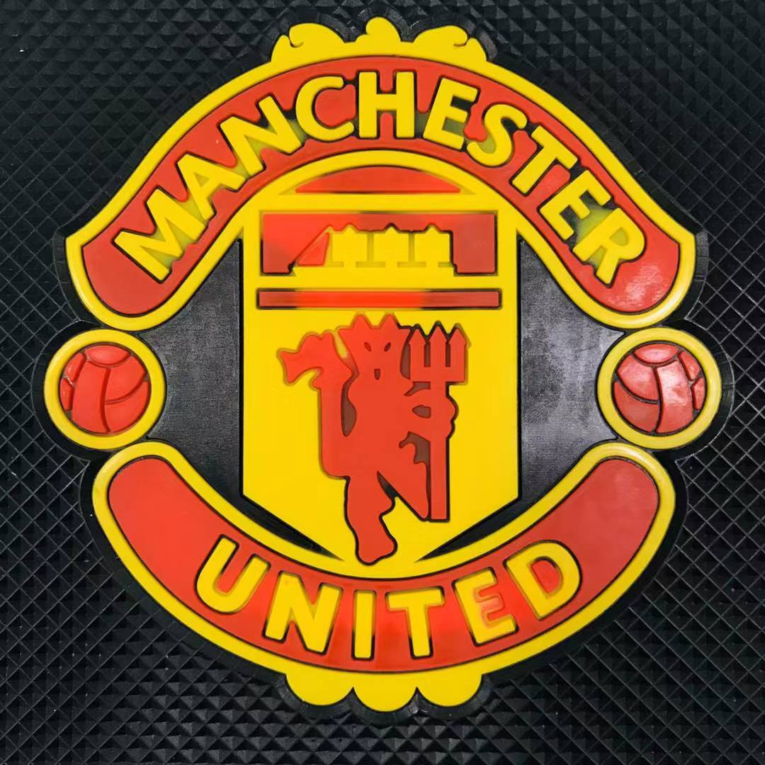Auto Sitter PVC Manchester United Non Slip Sticky Mat for Car Dashboard