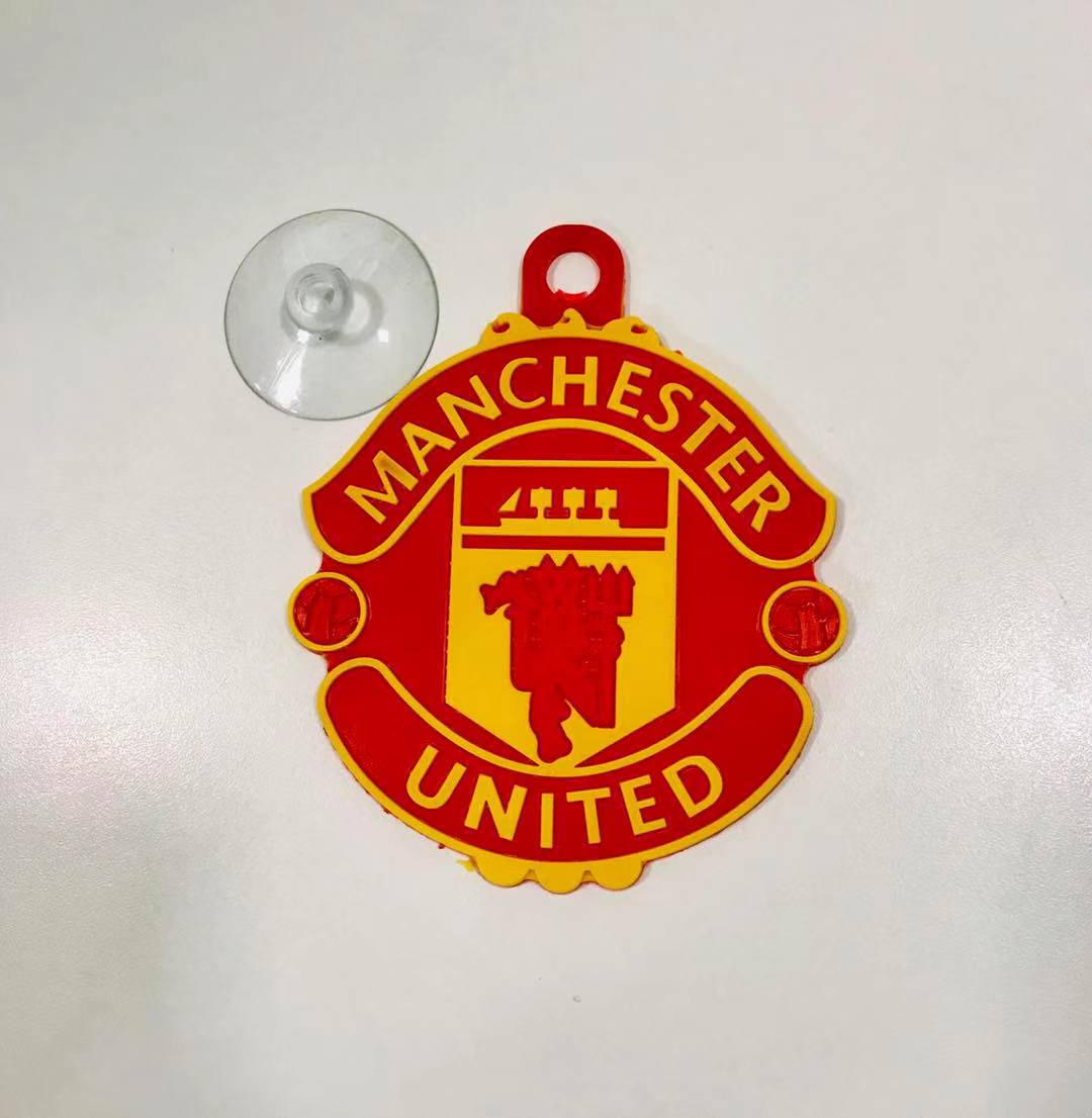 Auto Sitter Manchester United Antiskid Cushion with Suction