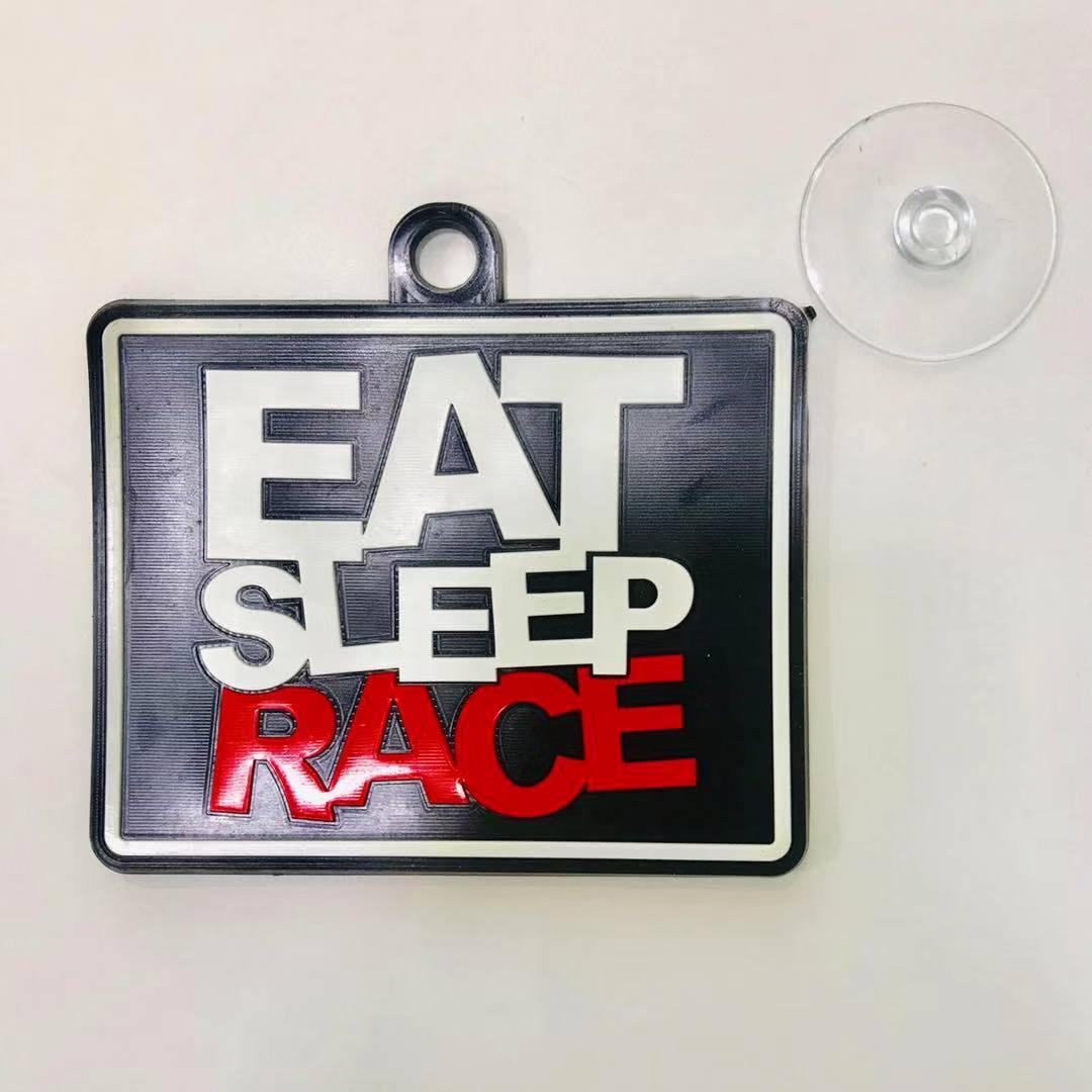 Auto Sitter Eat Sleep Race Antiskid Cushion with Suction