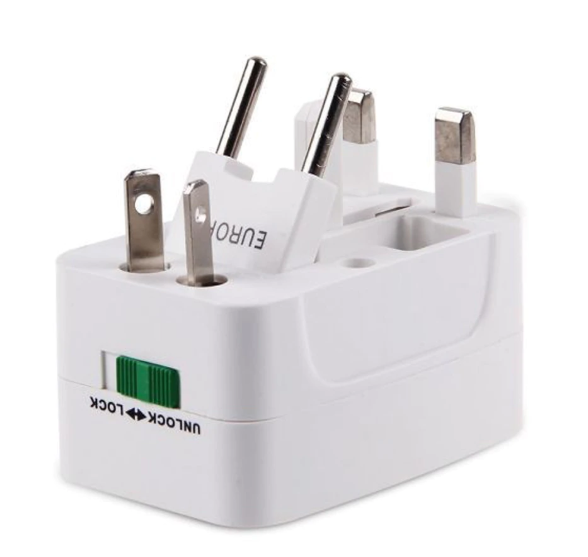 All in One Universal Travel Adapter 2 USB Port