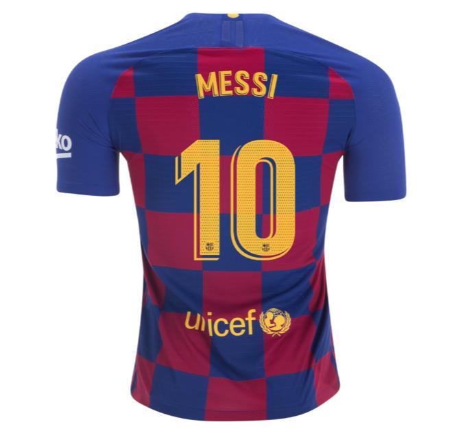 Lionel Messi Barcelona Home Jersey 2019 Replica