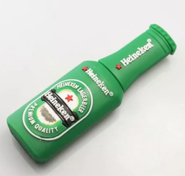 Heineken Bottle Shape 64GB Pen Drive