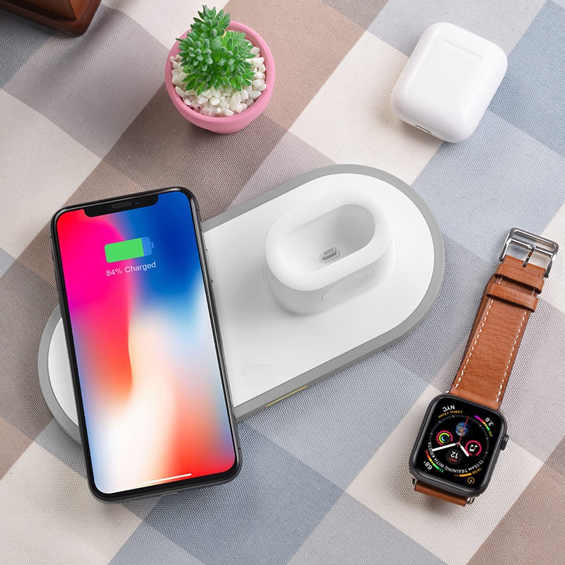 3-in-1 Wireless Charger for Apple