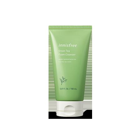 Innisfree Green Tea Foam Cleanser 150ml 2019 New Pack