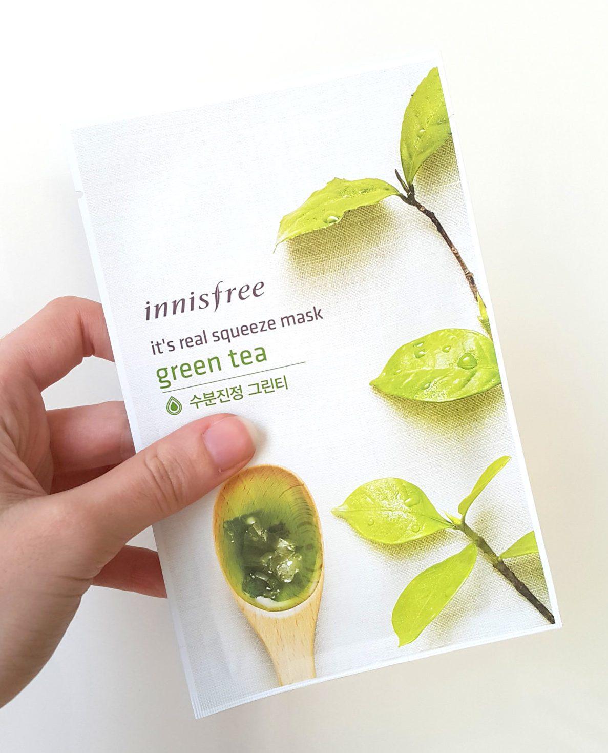 Innisfree Its Real Green Tea Mask 3 Pcs