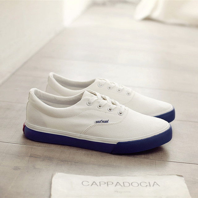 SJstudio Canvas Classic All-match Design Comfortable Shoes For Men