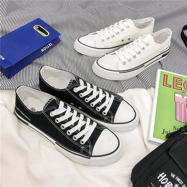 SJstudio Classic Low-cut Comfortable Canvas Shoes For Men