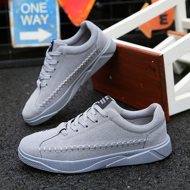 SJstudio Suede Breathable  Elevator Shoes Casual Shoes For Men