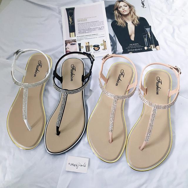 SJstudio Diamond Design Comfortable Sandal For Women