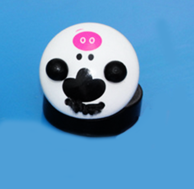 Wooden Panda Shaped Castanet Toy for Kids