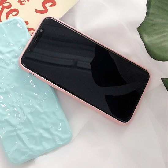 Plastic Floor Patterned iPhone X Back Cover