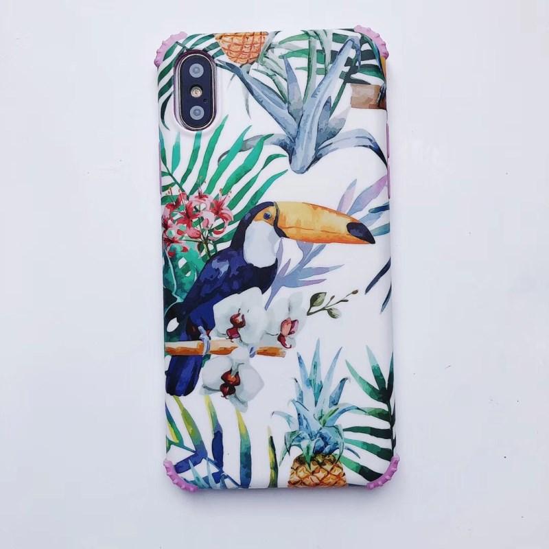 Plastic Woodpecker Bird Printed iPhone X Back Cover