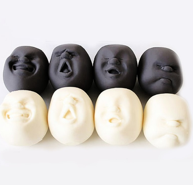 Resin Stress Free Relieve Face Toy for Kids