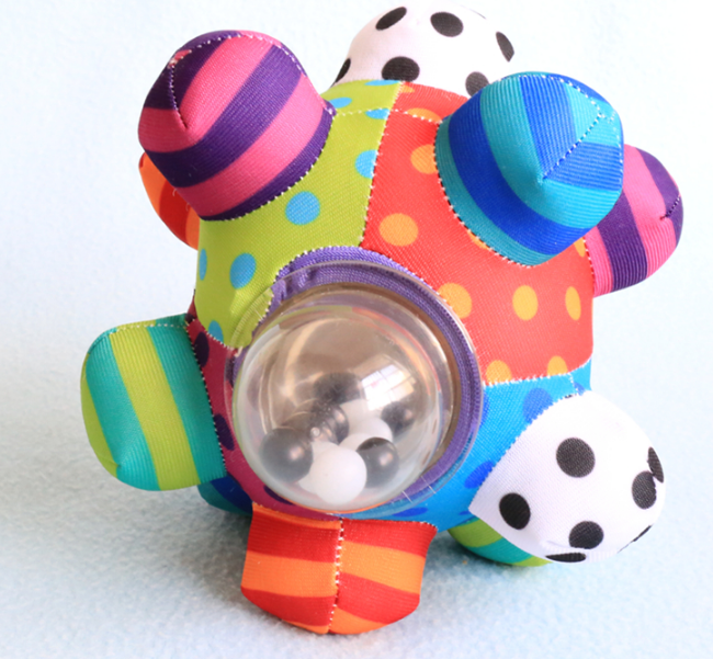 Cute Little Colorful Cloth 3-D Ball for Kids
