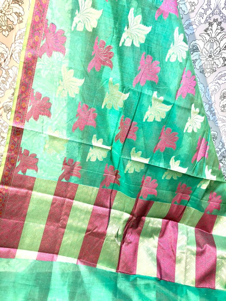 COTTON BANARSI SAREES